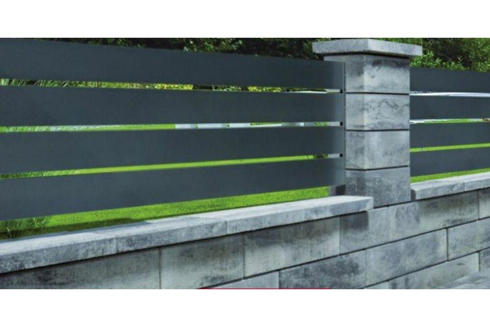 Leo Colori Kerítés grafitfehér színben