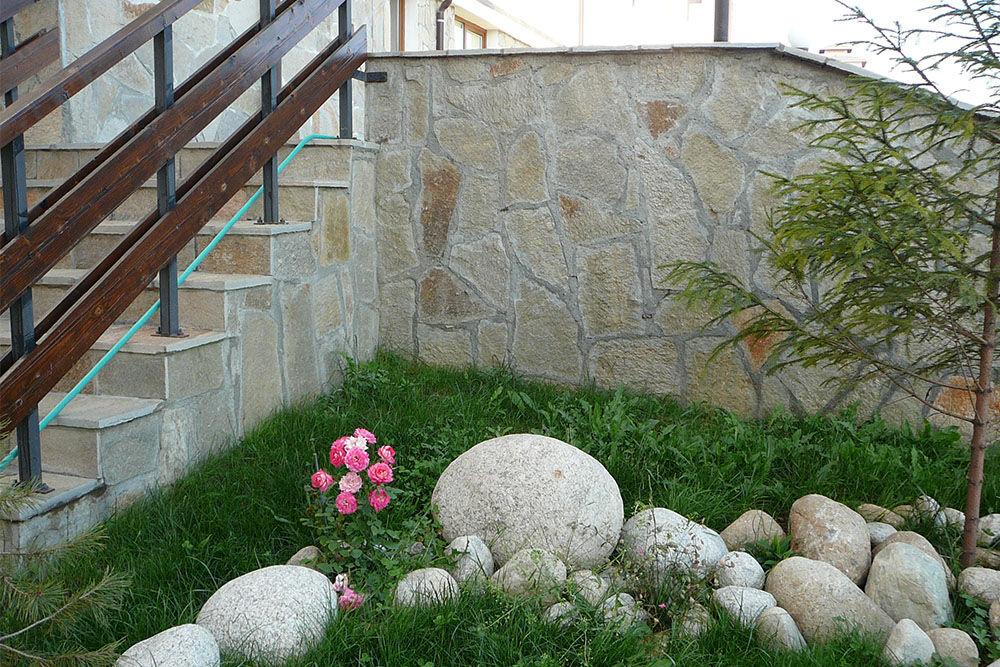 bolgár gneisz szabálytalan kő lapok