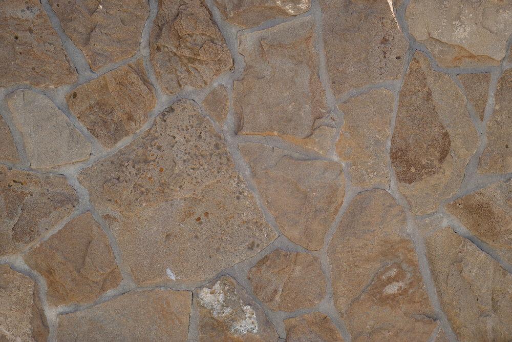 szabálytalan homokkő lapok