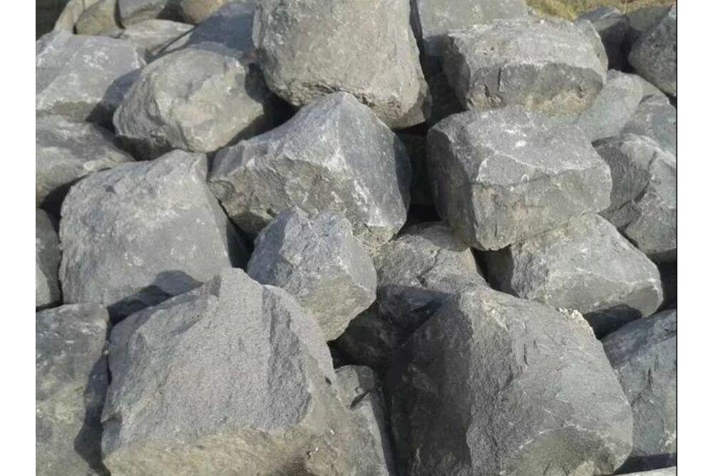 Andezit ömlesztett szikla