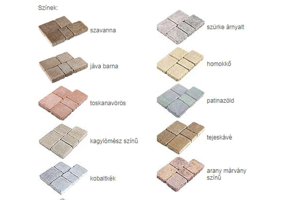 rialta antik térkő színek