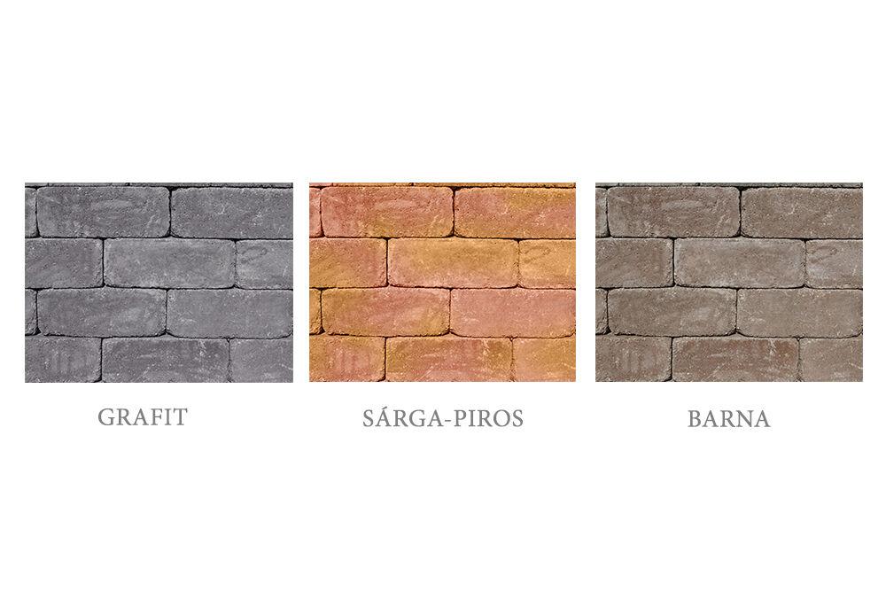 antikolt blokkelem színek