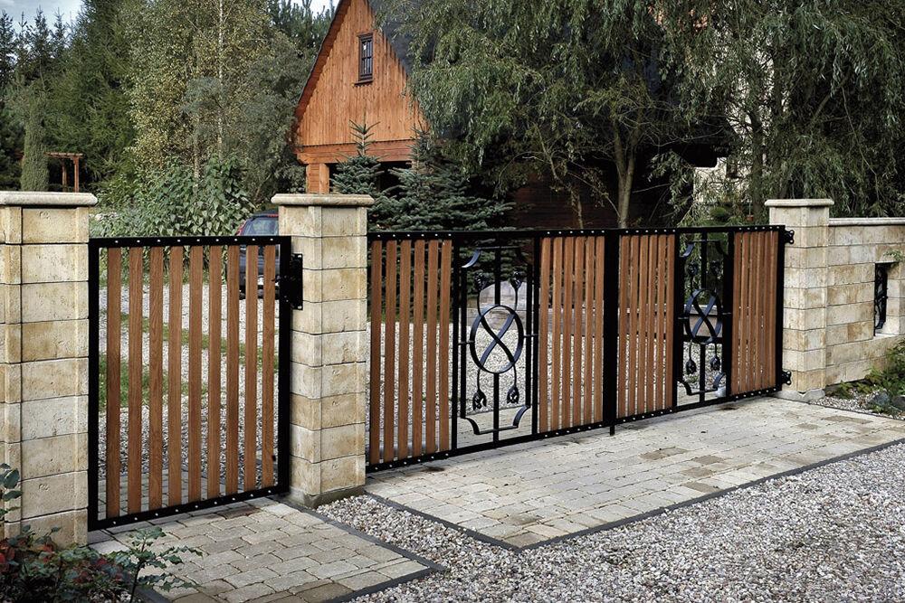Homokkő kerítéskő