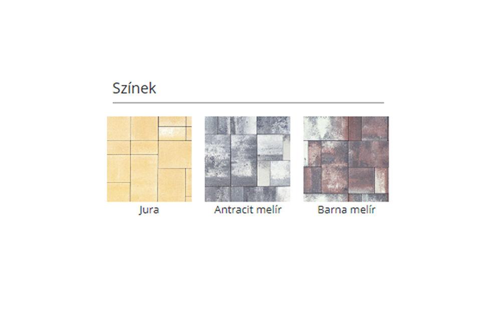Lungo kombi térkő színek