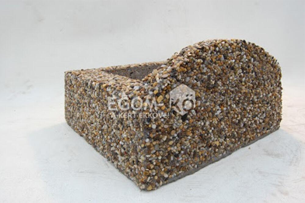 egom kő növénytámfal elem