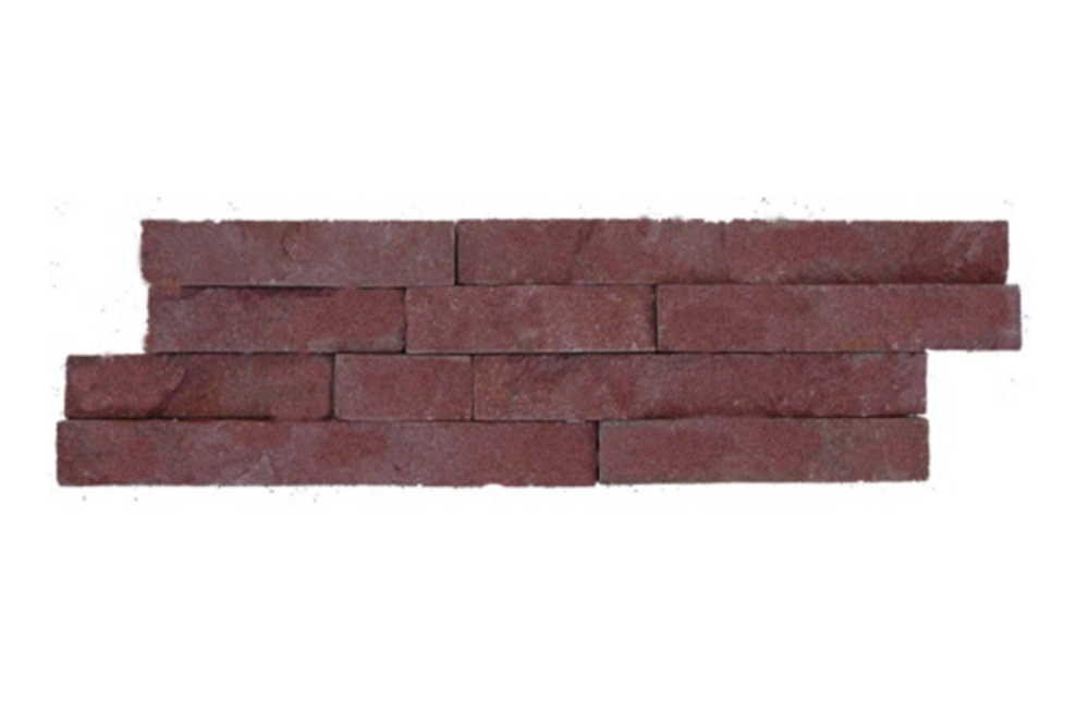 Kőpanel, bolgár vörös homokkőből