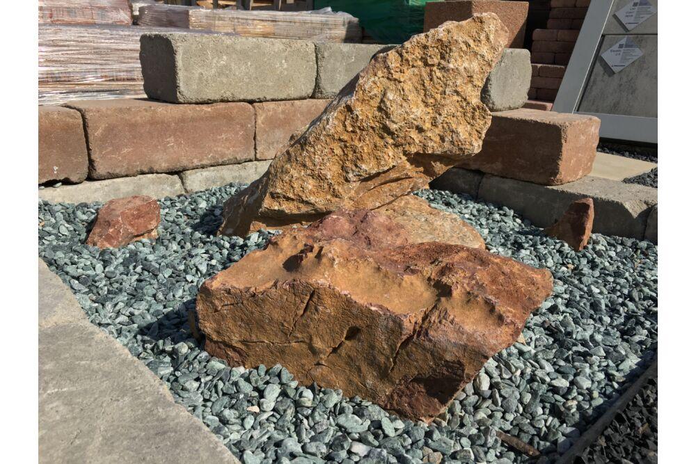 Vörös mészkő óriás szikla