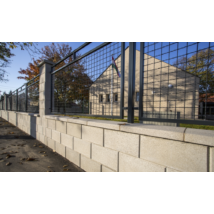Modern Kerítéskő natúr felülettel