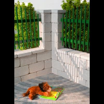 Antik kerítéskő Creme színben