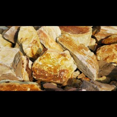 Riolit ömlesztett szikla