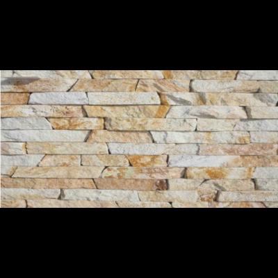 Riolit 3 oldalon vágott, roppantott kő